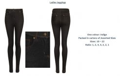 Ladies Stretch Jeggings